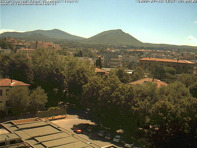 Webcam Viterbo VT loc. Santa Barbara Live webcamera